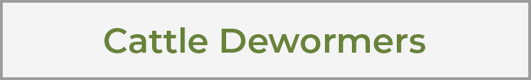 Cattle Dewormers
