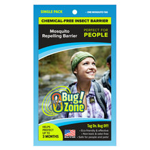 0Bug Zone Mosquito Repelling Barrier for People