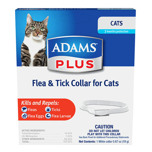 View larger image of Adams Plus Flea & Tick Collar For Cats
