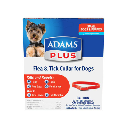 View larger image of Adams Plus Flea & Tick Collar for Dogs