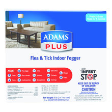Adams Plus Flea & Tick Indoor Fogger