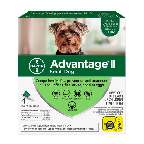 View larger image of Advantage II Flea Treatment For Dogs