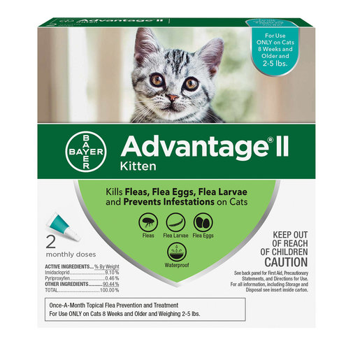 View larger image of Advantage II Flea Treatment For Cats