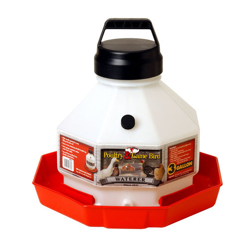 View larger image of Automatic Poultry Waterer with Handle