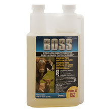 Boss Pour-On Insecticide for Cattle and Sheep
