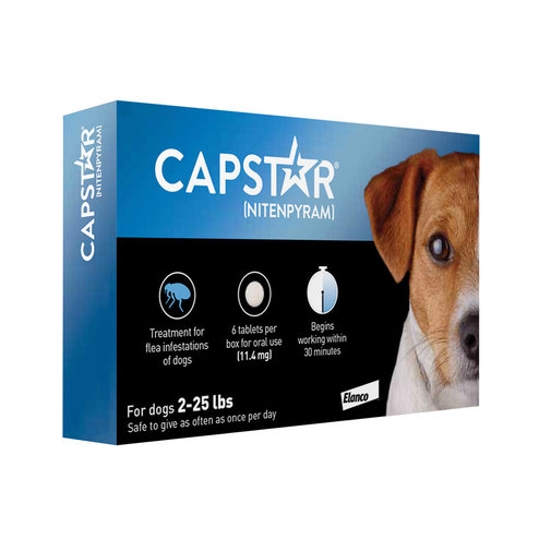 View larger image of Capstar Flea Treatment for Dogs