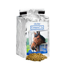 Compose 2x Pelleted Calming Horse Supplement