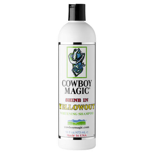 View larger image of Cowboy Magic Shine In Yellowout Whitening Horse Shampoo