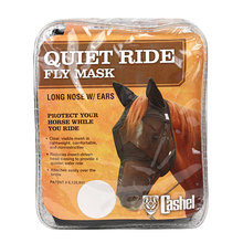 Quiet Ride Long Nose Pasture Fly Mask with Ears