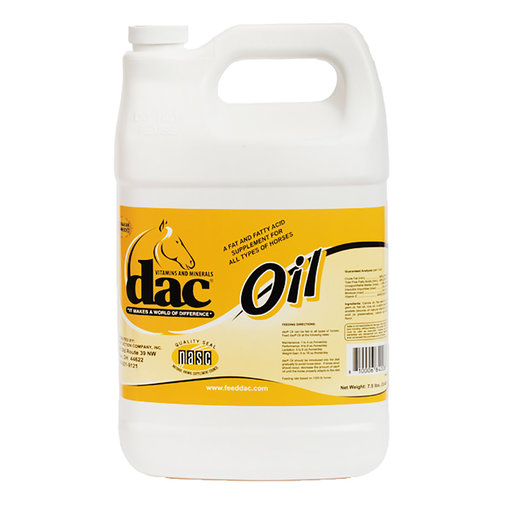 View larger image of dac Oil Horse Supplement