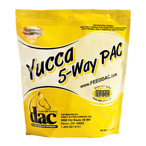 View larger image of dac Yucca 5-Way PAC Supplement for Horses