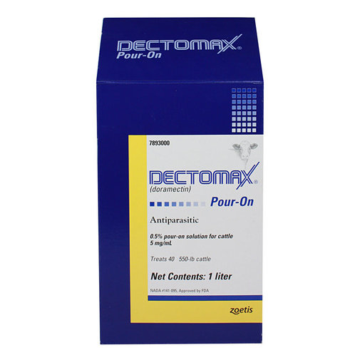View larger image of Dectomax Cattle Dewormer Pour-On
