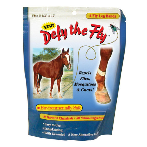 View larger image of Defy the Fly Horse Leg Fly Bands