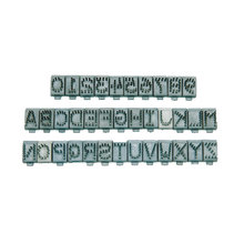 Digits and Letters for Pet Tattoo Kit