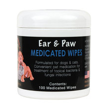 E3 K9 Ear & Paw Medicated Wipes