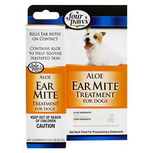 Aloe Ear Mite Treatment for Dogs