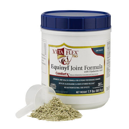 View larger image of Equinyl Joint Formula w/HA Horse Supplement