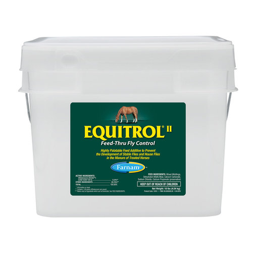 View larger image of Equitrol II Feed-Thru Fly Control for Horses