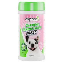 Espree Oatmeal & Baking Soda Wipes for Dogs and Cats