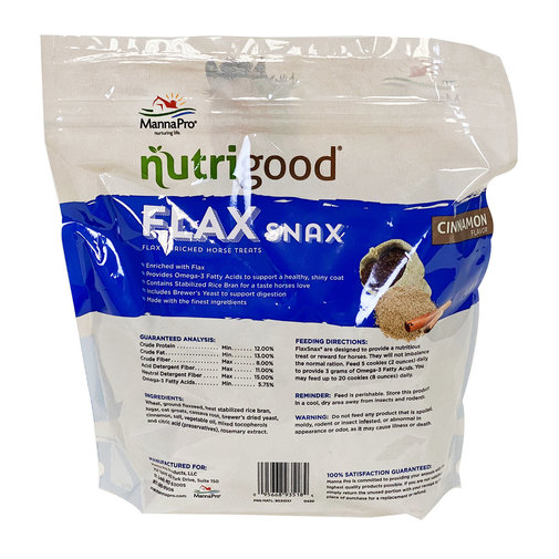 View larger image of Nutrigood Flax Snax Horse Treats