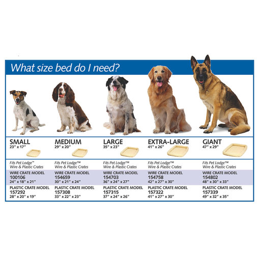 View larger image of Fleece Dog Bed