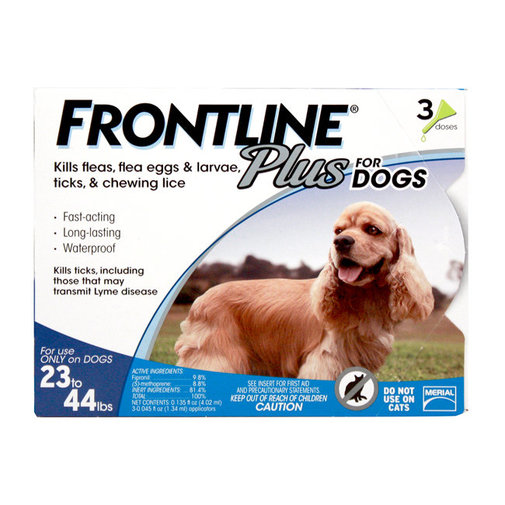 View larger image of Frontline Plus Flea and Tick Spot-On for Dogs