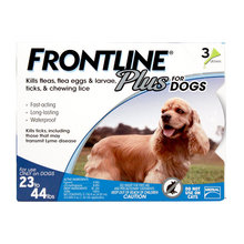 Frontline Plus Flea and Tick Spot-On for Dogs