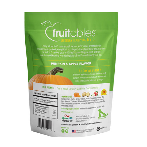 View larger image of Fruitables Baked Dog Treats