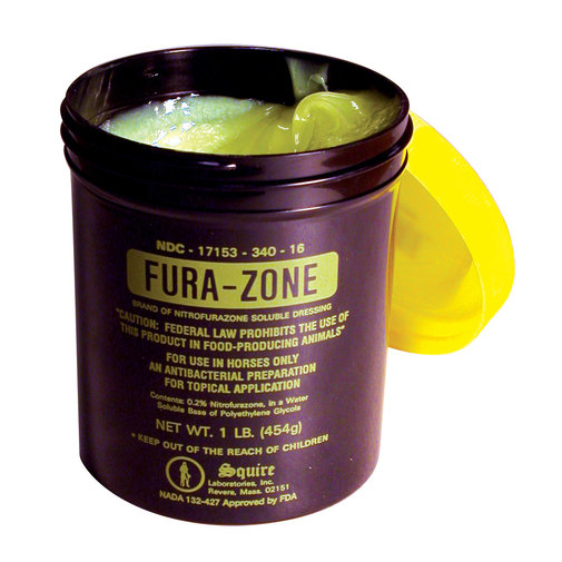 View larger image of Fura-Zone Nitrofurazone Ointment for Horses