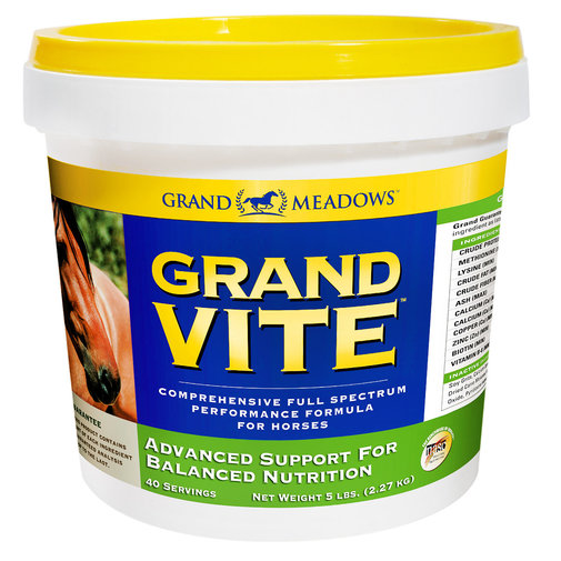 View larger image of Grand Vite Comprehensive Full Spectrum Performance Formula for Horses