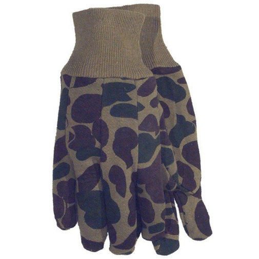 View larger image of Green Camo Jersey Gloves