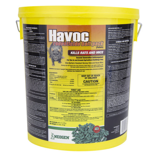 View larger image of Havoc Rodenticide Bait Pack Pellets