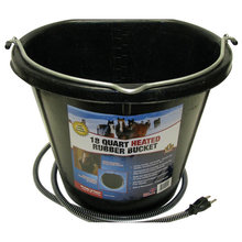 Heated Rubber Flatback Bucket