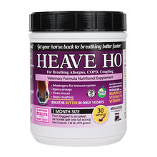 HEAVE HO Horse Supplement for Allergies, COPD, Coughing