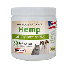 Hemp Calming Soft Chews for Dogs and Cats