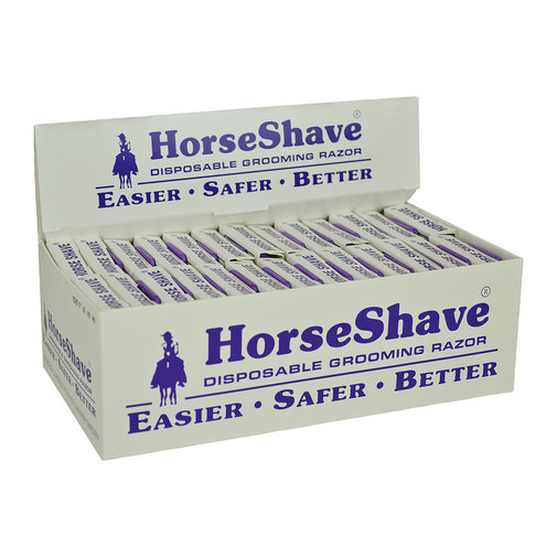 View larger image of Horse Shave Disposable Grooming Razor Display