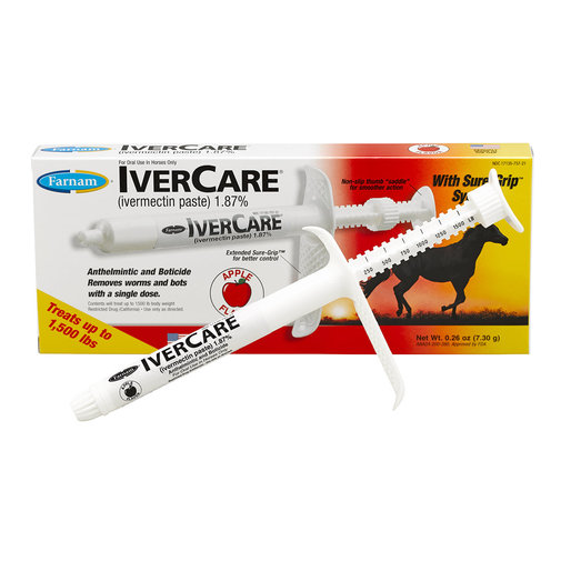 View larger image of IverCare Horse Dewormer Paste