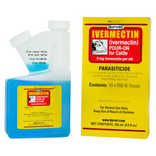 Ivermectin Pour-On Dewormer for Cattle