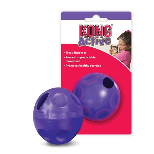 View larger image of KONG Active Treat Ball Cat Toy