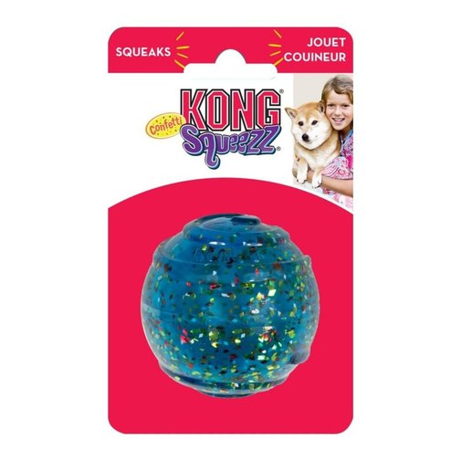 View larger image of KONG Squeezz Confetti Ball
