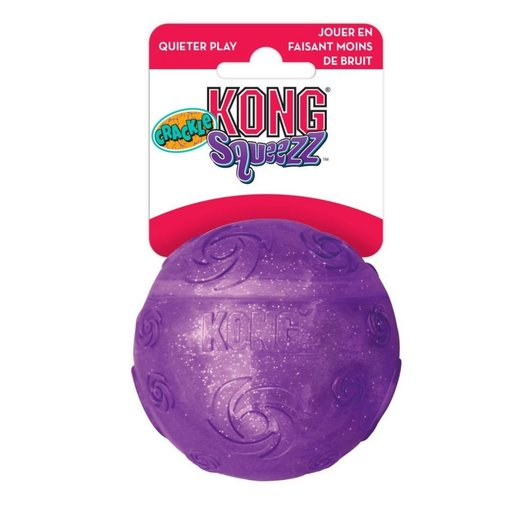 View larger image of KONG Squeezz Crackle Ball