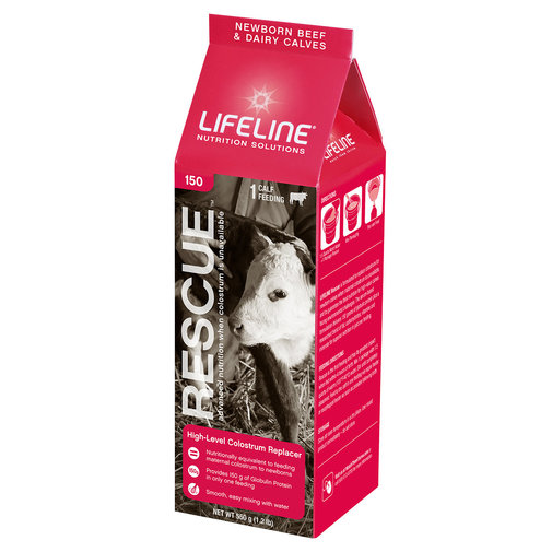 View larger image of LIFELINE Rescue Colostrum Replacer for Newborn Calves