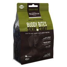 Majesty's Buddy Bites Skin + Coat Grain-Free Wafers Supplement for Dogs