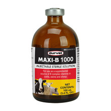 Maxi-B 1000 Injectable for Cattle, Swine and Sheep