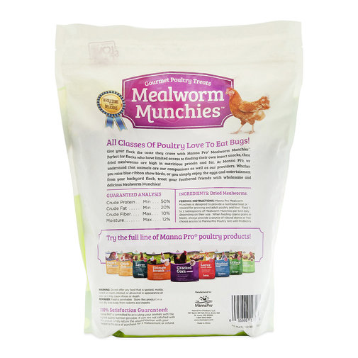 View larger image of Mealworm Munchies Gourmet Poultry Treats