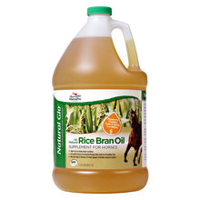 Natural Glo Rice Bran Oil Horse Supplement