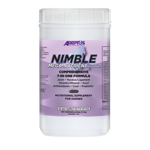 View larger image of Nimble Mega-Nutrient 7-in-One Nutritional Supplement for Horses
