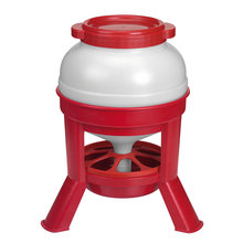 Plastic Dome Poultry Feeder