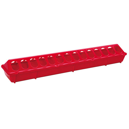 View larger image of Plastic Flip-Top Ground Poultry Feeder