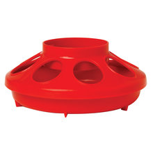 Plastic Screw-On Poultry Feeder Base